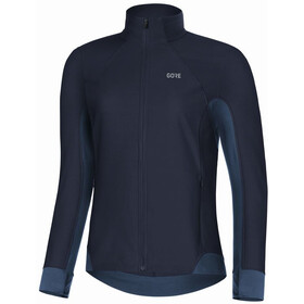 GORE WEAR R3 Partial Gore Windstopper Fietsshirt Korte Mouwen Dames, orbit blue/deep water blue